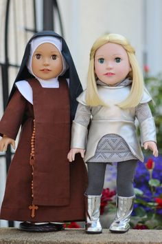 A Saint Doll will Make a great Christmas Gift for any Girl in your Life! Order Today at http://DollsfromHeaven.com #BestChristmasGift #Catholic