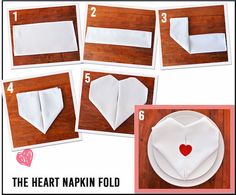 Romantic Napkin Folding