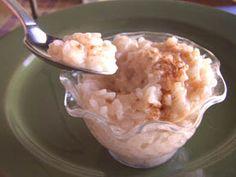 """Mexican White Rice Dessert """"Arroz Con Leche"""""""
