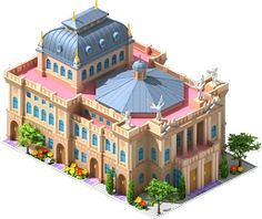 Real World Buildings: World Capitals - Megapolis Wiki - Zürich Opera House