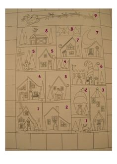 Val Spiers Sews: North Pole Quilt a long