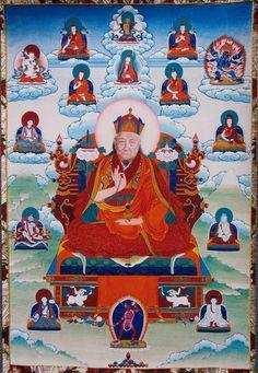 Teacher (Lama) - Dilgo Khyentse Rinpoche (HimalayanArt)
