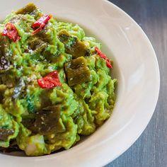 Roasted Chile Guacamole Recipe - Delish.com