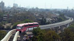 Ever changing, ever progressing and ever dynamic, a new mode of transport #Monorail is taking #NaviMumbai by the storm...  Experience the charm of a fabulous city as you stay at Country Inn & Suites By Carlson, Navi Mumbai!