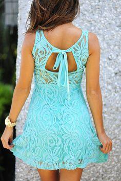 Flower Fixation Sleeveless Dress: Spearmint