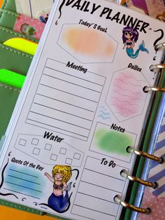 My handmade planner filofax ... You can buy it on my esty shop