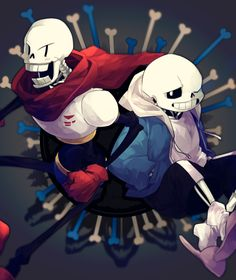 Sans and Papyrus | Skele Bros | Undertale