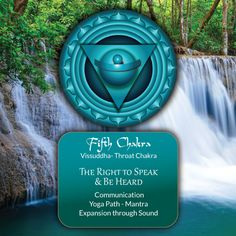 5th #Chakra ~ The Spirit of Water: The Right to Speak & Be Heard.- celebrated and pinned by www.omved.com