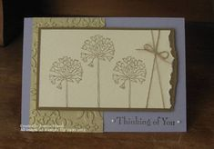 TLC367 Thinking of You by Frenchiejo - Cards and Paper Crafts at Splitcoaststampers