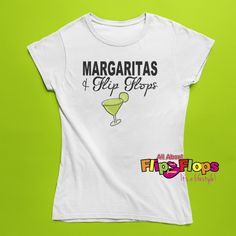 B2G1 FREE! Our Margaritas and Flip Flops Short Sleeve Crew Neck T-Shirt is a 100Heavy Cotton (or relaxed fit t-shirt.