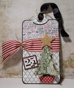 Christmas Tag 5 2013 by HamiltonGal - Cards and Paper Crafts at Splitcoaststampers