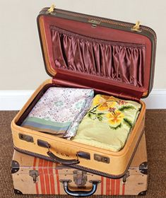 pretty suitcase makeover from elycia | DIY & Crafts | Pinterest ...