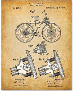 Bicycle - 11x14 Unframed Patent Print - Great Gift for Bi... https://www.amazon.com/dp/B06XC9G4ZD/ref=cm_sw_r_pi_dp_x_b7CoAb337NWDZ