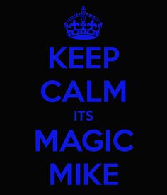 Its kinda hard to stay calm when watching Magic Mike!