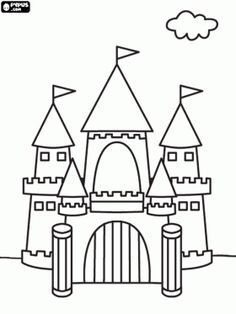 jack and the beanstalk castle printable Google Search