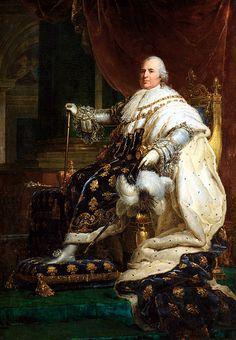 Louis XVIII — né à Versailles le 17 novembre 1755 sous le nom de Louis Stanislas Xavier de France, et par ailleurs comte de Provence (1755-1795) — est roi de France et de Navarre de 1814 à 1815 et de 1815 à sa mort, le 16 septembre 1824, à Paris.  Il est le frère cadet de Louis XVI.