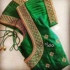 Cutwork Blouse Designs, Best Blouse Designs, Wedding Saree Blouse Designs, Simple Blouse Designs, Simple Designs, Salwar Designs, Mirror Work Blouse Design, Designer Blouse Patterns, Pink