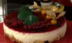 Cheese Cake de Frutas Vermelhas | Receitas | Dia Dia
