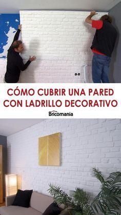 Cubrir Pared Con Ladrillo Decorativo Bricomania Ladrillo Decorativo Pared Decoracion De Interiores Pintura