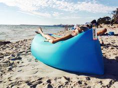 24 Adorable Beach Bean Bag Ideas : First-Rate beach bean bag Ideas. Outdoor Camping, Outdoor Travel, Beach Camping, Modern Bean Bags, Patio Lounge Furniture, Outdoor Furniture, Cool Bean Bags, Beach Bedding, Beaches In The World