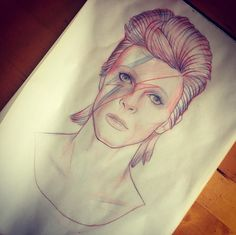 43 Hunky-Dory Tattoos That Pay Homage to David Bowie