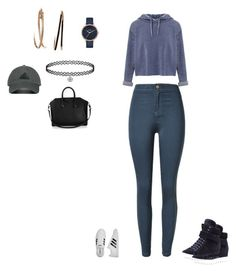 """""""Untitled #101"""" by selise-miles on Polyvore featuring Miss Selfridge, Miu Miu, adidas, Nixon, Givenchy and adidas Originals"""