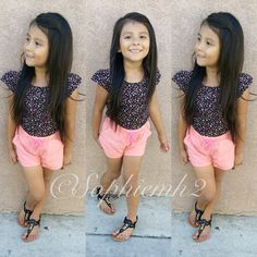 <3shes beautiful this is what I think my daughter is gonna look like in 3 years except lighter skin.