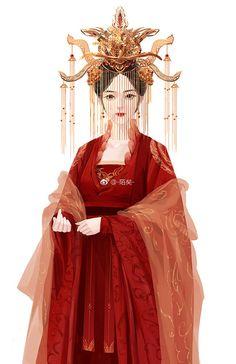 65 Ideas asian fantasy art girls clothing styles for 2019 Chinese Picture, Chinese Style, Chinese Art, Girls Fashion Clothes, Girl Outfits, Fashion Outfits, 5 Anime, Painting Of Girl, China Girl