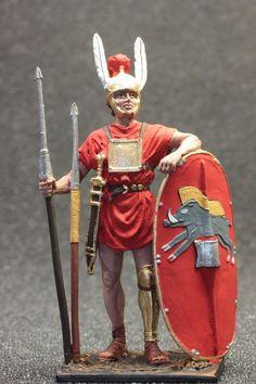 Roman legionary tin toy soldier #StPetersburg