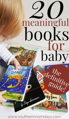 20 meaningful books for babies and toddlers.
