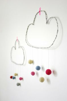 DIY: Wire cloud decoration - Patchwork Harmony