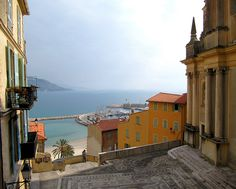 | ♕ |  View from Cathedral - Menton, Cote d'Azur