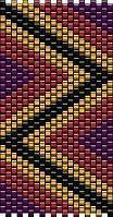 every color a different size Peyote Beading Patterns, Loom Bracelet Patterns, Peyote Stitch Patterns, Beaded Bracelets Tutorial, Bead Loom Bracelets, Loom Beading, Jewelry Patterns, Native American Beading, Seed Beads