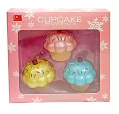 Cupcake Christmas Ornaments *** Want to know more, click on the image.