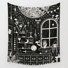 Moon Tapestries   Society6