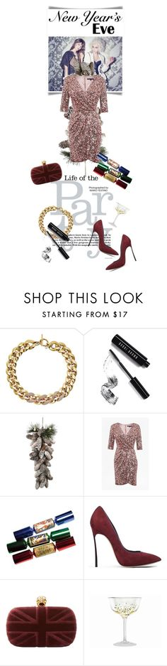 """2016"" by gizaboudib ❤ liked on Polyvore featuring Michael Kors, Bobbi Brown Cosmetics, French Connection, Casadei, Alexander McQueen, ACME Party Box Company and nyestyle"