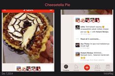 #testi #testimonial #cheesetella #pie #pia #nutella #cream #cheese