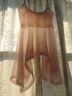 Ravelry: Featherlight Lingerie Dress pattern by Mari Lynn Patrick