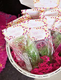 Pink & Yellow Modern Spa Party {Girls Birthday}