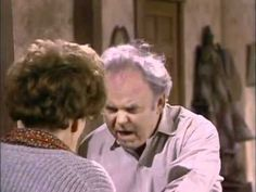 All in the Family 07 17 Archie's Chair Carroll O'connor, Archie Bunker, Color Television, Just Video, Classic Comedies, All Tv, All In The Family, Laughing And Crying, Youtube I