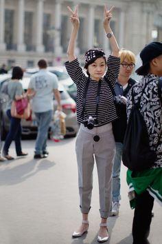 The Sartorialist / At Carven, Paris // #Fashion, #FashionBlog, #FashionBlogger, #Ootd, #OutfitOfTheDay, #StreetStyle, #Style