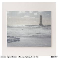 Iceland Jigsaw Puzzle - Malariff lighthouse Winter | Travel gift idea | Gift for traveler | Iceland gift | Landscape Jigsaw Puzzle | lighthouse Jigsaw Puzzle >affiliate Iceland Destinations, Iceland Travel Tips, Iceland Landscape, Iceland Road Trip, Custom Gift Boxes, Travel Gadgets, Winter Travel, Travel Gifts, Plan Your Trip