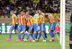 @valenciaoficial el equipo 'ché' consigue una victoria que lo clasifica a la fase de grupos de la UEFA Champions League #9ine
