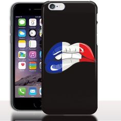 "Coque pour iPhone 7 Kiss France - 4.7"" - 5.5"" - Rigide - Gel Silicone, Housse, Etui"