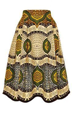 Madagascar Skirt by Lena Hoschek ~Latest African Fashion, African Prints, African fashion styles, African clothing, Nigerian style, Ghanaian fashion, African women dresses, African Bags, African shoes, Nigerian fashion, Ankara, Kitenge, Aso okè, Kenté, brocade. ~DKK