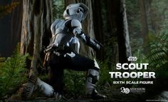 Scout Trooper | Preview | STAR WARS | Episode VI : Return of The Jedi (1983) | Sideshow Collectibles Figures