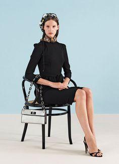 Prada wearing modern furniture  #modern