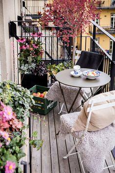 Outdoor Spaces, Outdoor Living, Outdoor Decor, The Balcony Scene, Small Balcony Decor, Apartment Balconies, Compact Living, Terrace Garden, Outdoor Entertaining