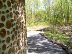 Rob Roy - Cordwood building video