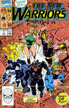 New Warriors #1 (July 1990)